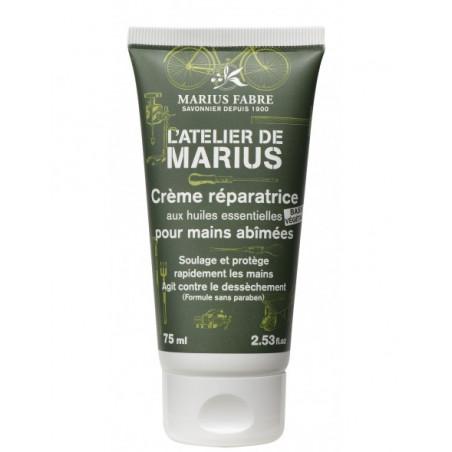 Crème réparatrice pour les mains abîmées, 75ml - Atelier de Marius
