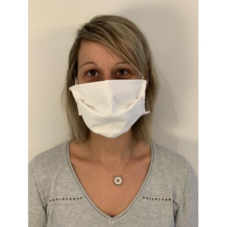Masque en tissus 3 plis lavable 30 fois – Testé par la DGA