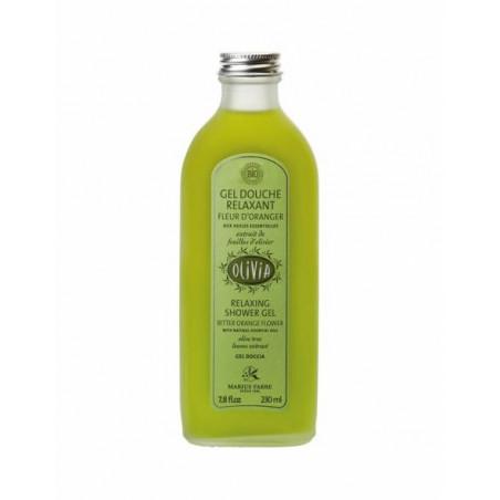 """Gel douche """"relaxant"""" à la fleur d'oranger, certifié BIO - 230 ml"""