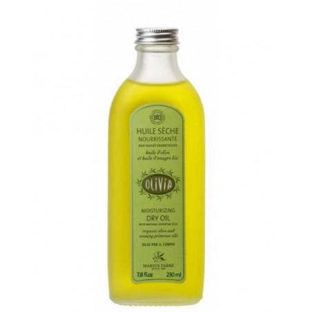 Huile sèche à l'huile d'olive et à l'huile d'onagre, certifiée BIO - 230 ml