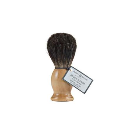 Brosse à barbe pour rasage, pur blaireau