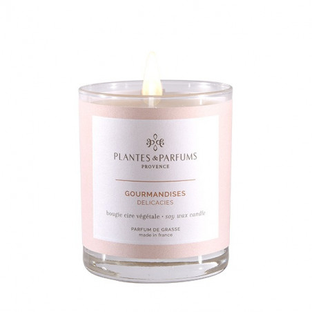 Bougie Végétale Parfumée Gourmandises - 180gr