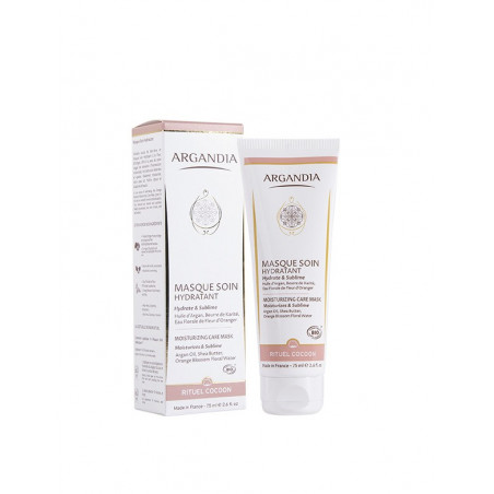 Masque Soin Hydratant, Fleur d'Oranger et Argan - 75 ml