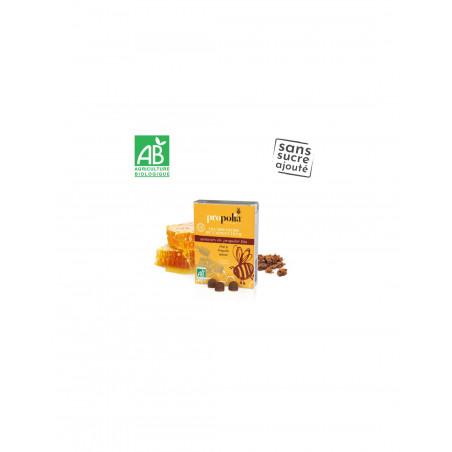 Gommes Propolis et miel Bio - Douceurs de l'Apiculteur- 45 gr