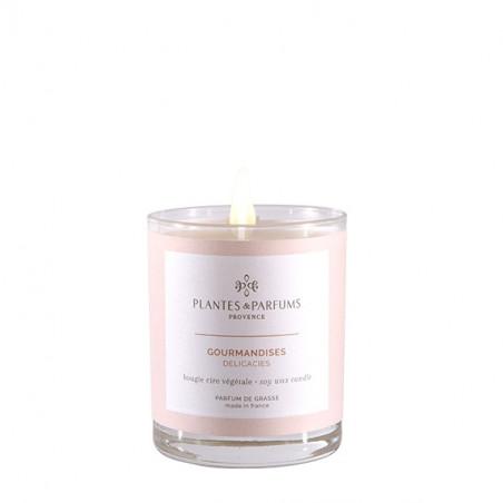Bougie Végétale Parfumée Gourmandises - 75gr