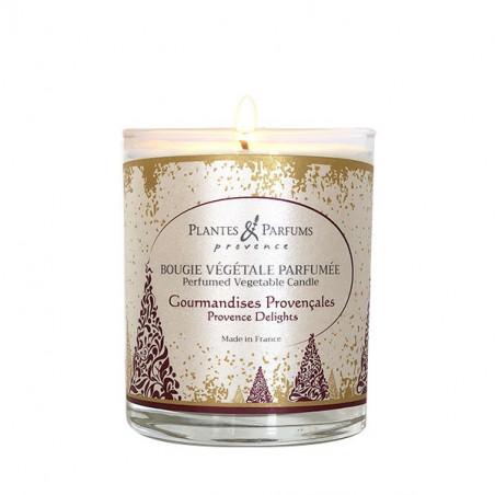 Bougie Végétale Parfumée Gourmandises Provençales - 75gr