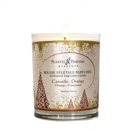 Bougie Végétale Parfumée Cannelle-Orange - 75gr