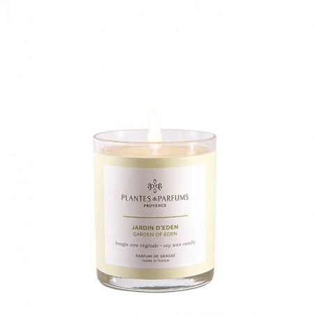 Bougie Végétale Parfumée Jardin d'Éden - 75gr