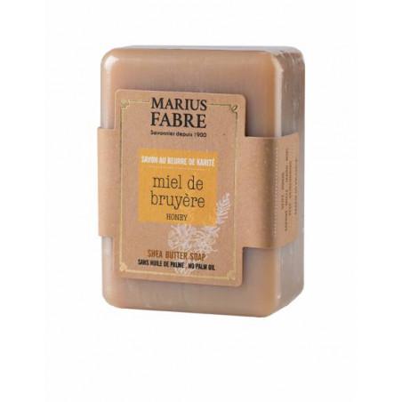 Savonnette parfumée au Miel de bruyère, sans huile de palme - 150 gr