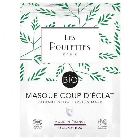 Masque Visage - Coup d'Eclat - Les Poulettes Paris