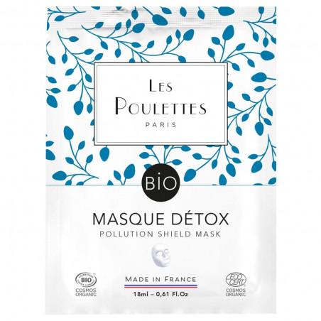 Masque Visage - Détox - Les Poulettes Paris