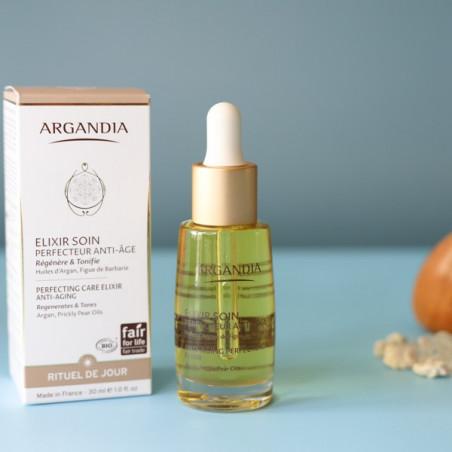 Elixir Soin Perfecteur Anti-âge, Figue de Barbarie et Argan - 30ml