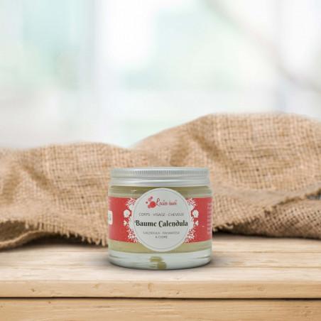 Baume Calendula – Karité, Calendula et huiles essentielles bio - 50ml - Louise émoi