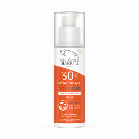ALGAMARIS - Crème solaire Visage SPF30