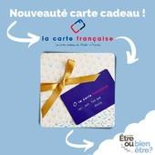 """🎁 Besoin de faire un cadeau, sans savoir qu'offrir ? 💳 Et bien nous avons rejoint le programme """"Carte Cadeau"""" de @la.carte.francaise !  Parce-que nous véhiculons tous les deux les mêmes valeurs : le #madeinfrance, nous acceptons désormais la carte cadeau de le Carte francaise.  👍🏻 C'est quoi : c'est une carte physique ou dématérialisée, permettant de régler vos achat sur notre site internet ou en boutique. Vous pouvez acheter ces cartes cadeaux sur le site de la carte ou bien en bénéficier directement avec votre Comité d'Entreprise. Vous ne pourrez par contre dépenser votre euros que dans des boutiques sélectionnées et distribuant du 100% français... comme nous 🥰"""